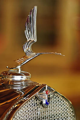 Hood Ornament Photograph - 1931 Lasalle Hood Ornament by Jill Reger