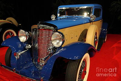 Photograph - 1931 Marmon V-16 Coupe 5d26796 by Wingsdomain Art and Photography