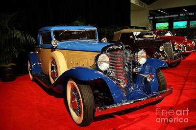 Photograph - 1931 Marmon V-16 Coupe 5d26803 by Wingsdomain Art and Photography