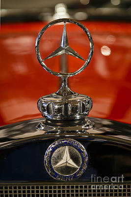 Photograph - 1931 Mercedes Benz Hood Ornament by Dennis Hedberg