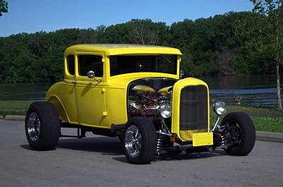 Photograph - 1931 Model A Ford Hot Rod Coupe by Tim McCullough