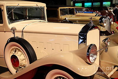 Photograph - 1931 Pierce Arrow Model 43 Club Sedan 5d26826 by Wingsdomain Art and Photography