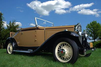 Photograph - 1931 Pontiac 401 Convertible by Tim McCullough