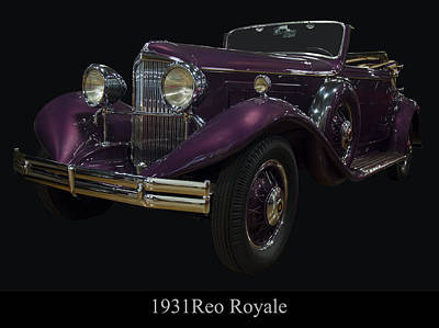 Digital Art - 1931 Reo Royale by Chris Flees