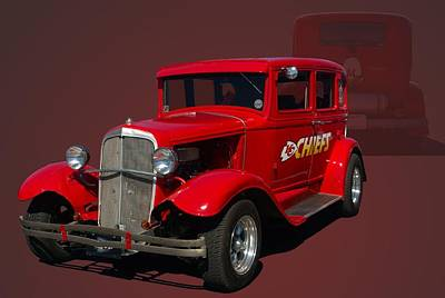 Photograph - 1931 Studebaker Sedan by Tim McCullough