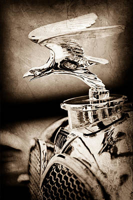 Photograph - 1932 Alvis Hood Ornament - Emblem by Jill Reger