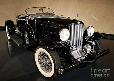 Transportion Photograph - 1932 Auburn Boattail Speedster by Christiane Schulze Art And Photography
