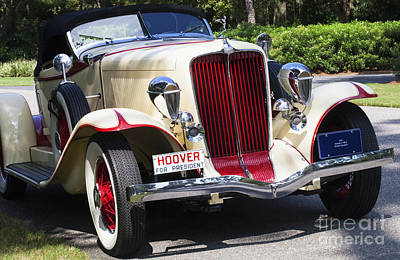 Photograph - 1932 Auburn Convertible by Diane Macdonald