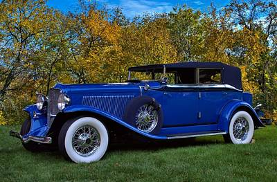 Photograph - 1932 Auburn Twelve Custom Phaeton Convertible by Tim McCullough