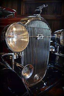 Transportation Photograph - 1932 Buick Series 90 4-door Club Sedan  by Michelle Calkins