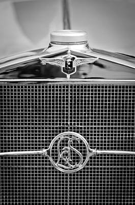 Photograph - 1932 Cadillac Lasalle Grille Emblem by Jill Reger