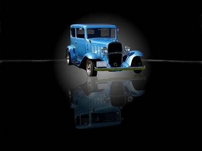 1932 Chevrolet Streetrod Print by Davandra Cribbie