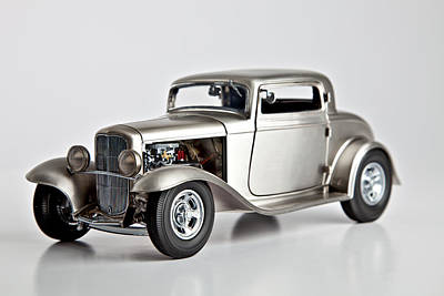 Photograph - 1932 Ford 3 Window Coupe by Gianfranco Weiss