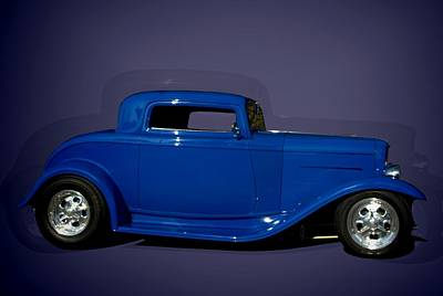 Photograph - 1932 Ford 3 Window Coupe Hot Rod by Tim McCullough
