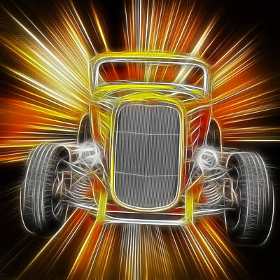 Photograph - 1932 Ford Art by Steve McKinzie