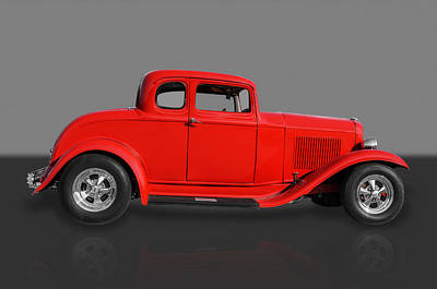 1932 Ford Art Print by Frank J Benz