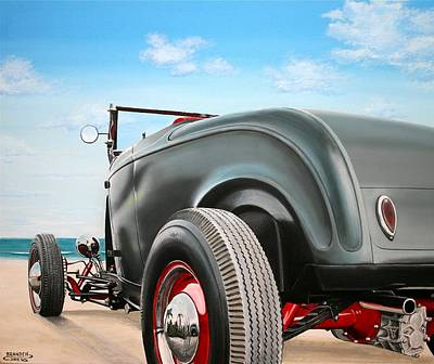 Painting - 1932 Ford Hi Boy by Branden Hochstetler
