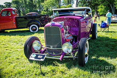 Photograph - 1932 Ford Hi-boy Roadster by Grace Grogan