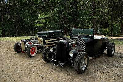 Photograph - 1932 Ford Hot Rods by Tim McCullough