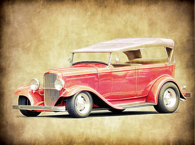 Photograph - 1932 Ford Phaeton  by Steve McKinzie