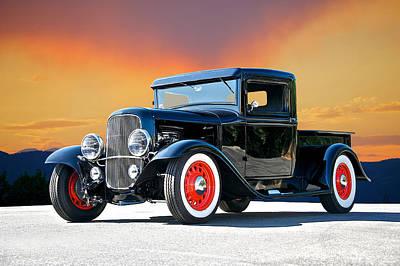 1932 Ford Pick Up II Art Print by Dave Koontz
