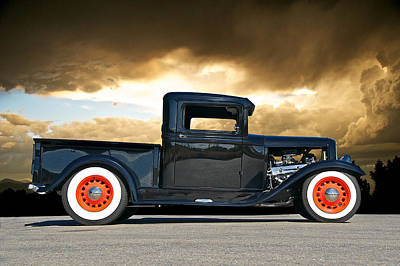 1932 Ford Pick Up Iv Art Print by Dave Koontz