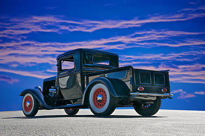 Crazy Cartoon Creatures - 1932 Ford Pick Up V by Dave Koontz