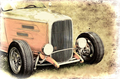Photograph - 1932 Ford Roadster by Athena Mckinzie