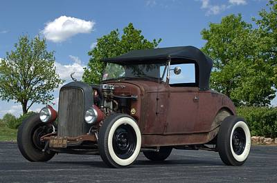 Photograph - 1932 Ford Roadster Rat Rod by Tim McCullough