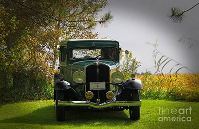 Photograph - 1932 Frontenac 6-70 Sedan  by Davandra Cribbie