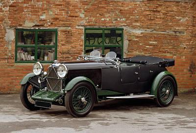 1932 Lagonda 2.0 Litre Supercharged Art Print