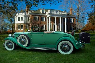 Photograph - 1932 Packard 903 Convertible  by Tim McCullough