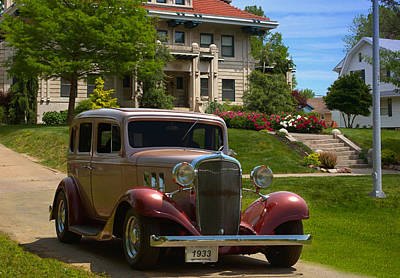 Photograph - 1933 Chevrolet Touring Sedan by Tim McCullough