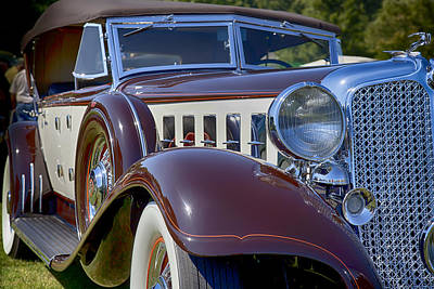 Photograph - 1933 Chrysler Imperial - Cl Phaeton by Jack R Perry