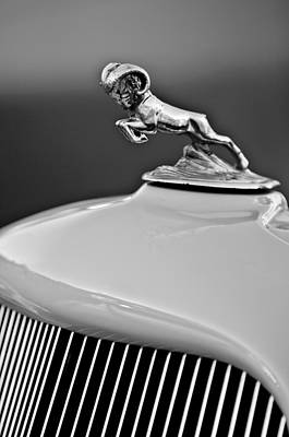 1933 Dodge Ram Hood Ornament 2 Print by Jill Reger