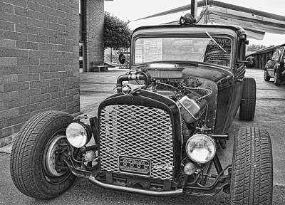 Photograph - 1933 Dodge Rat Rod by Ron Roberts