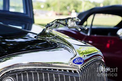 Photograph - 1933 Ford Hood Ornament by Paul Mashburn