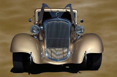 Photograph - 1933 Plymouth Hot Rod Coupe by Tim McCullough