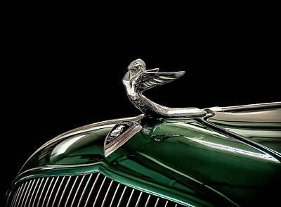 1933 Plymouth Mascot Art Print by Douglas Pittman
