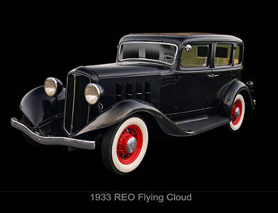 Digital Art - 1933 Reo Flying Cloud by Chris Flees