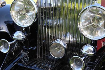 1933 Rolls Royce Phantom II Front Assembly Art Print by Mark Steven Burhart