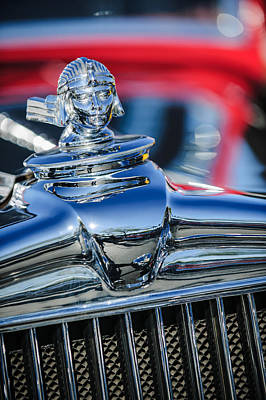 1933 Stutz Sv-16 Five-passenger Sedan Hood Ornament Art Print