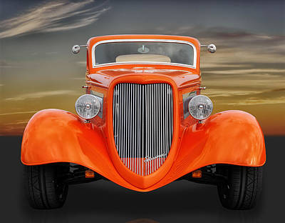 Photograph - 1933 Ford Three Window by Frank J Benz