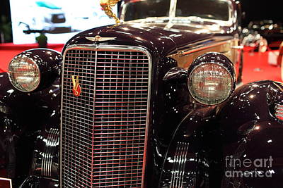 1934 Cadillac V16 Aero Coupe - 5d19876 Art Print by Wingsdomain Art and Photography