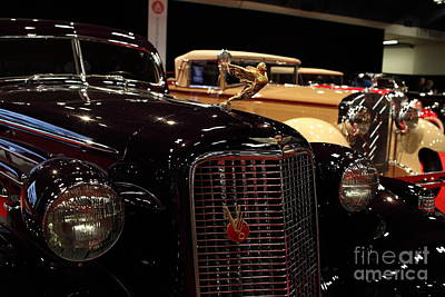 1934 Cadillac V16 Aero Coupe - 5d19877 Art Print by Wingsdomain Art and Photography