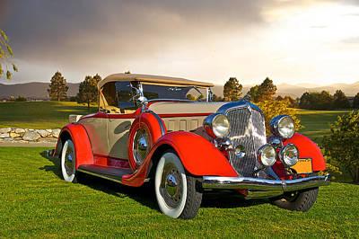 Just Desserts - 1934 Chrysler Roadster II by Dave Koontz