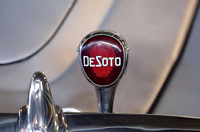 Photograph - 1934 Desoto Airflow Coupe Taillight by Jill Reger