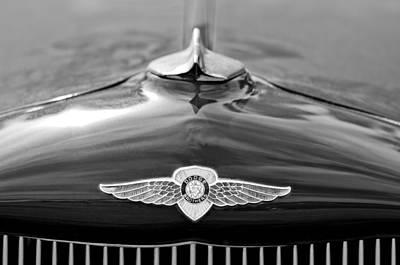 Photograph - 1934 Dodge Hood Emblem by Jill Reger