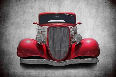 Photograph - 1934 Ford by Athena Mckinzie
