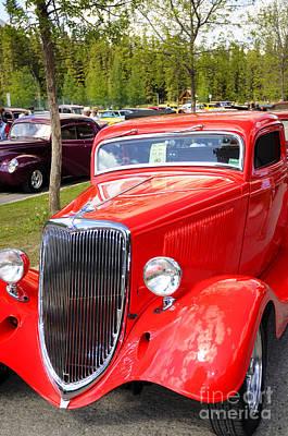 Photograph - 1934 Ford Classic Car by Brenda Kean